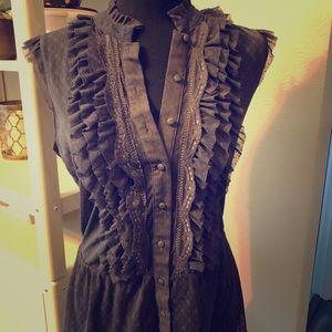 Charlotte Russe sleeveless blouse